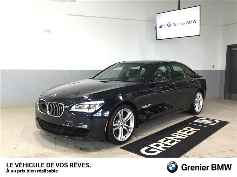 BMW 750i xDrive 2014 garantie 2 ans km illimité gratuite+ligneM+0.9% #180117A