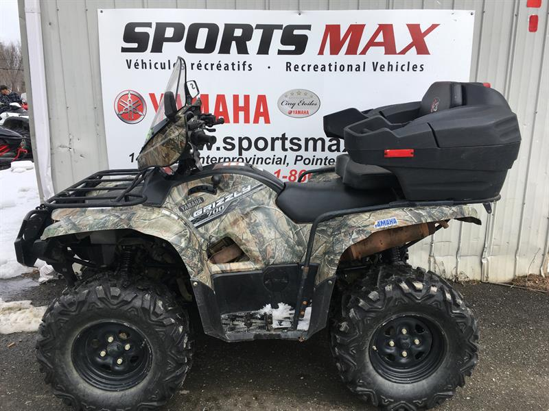 Yamaha Grizzly 700 2014