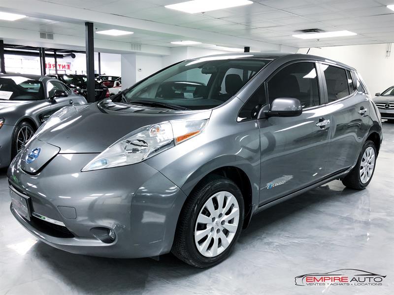 2015 Nissan Leaf S HATCHBACK ELECTRIQUE Used for sale in Saint