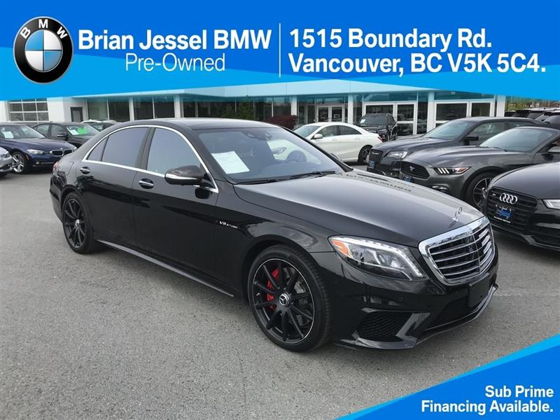 2015 Mercedes-Benz S-Class S63 AMG 4MATIC Sedan #BP6330