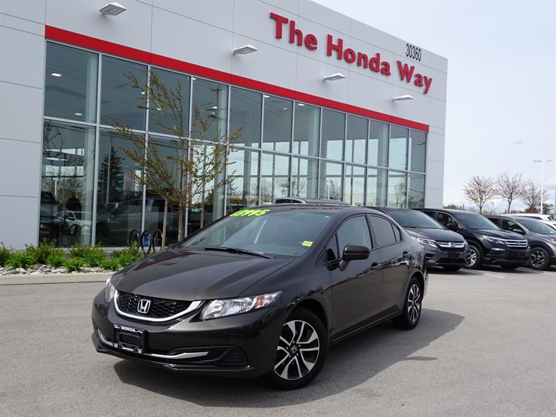 2014 Honda Civic EX Sedan CVT #18-212A