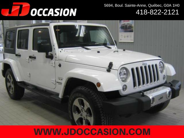 Jeep Wrangler Unlimited 2017 4WD 4dr Sahara #A4871