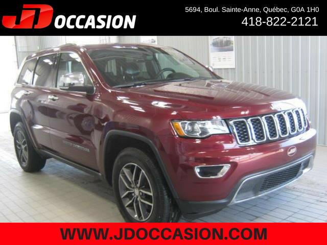Jeep Grand Cherokee 2017 4WD 4dr Limited #A4867