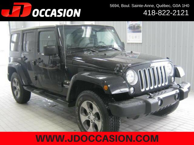 Jeep Wrangler Unlimited 2017 4WD 4dr Sahara #A4878