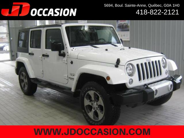 Jeep Wrangler Unlimited 2017 4WD 4dr Sahara #A4877
