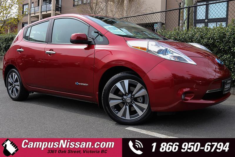 2015 Nissan Leaf SV Prem Pkg #JN2827