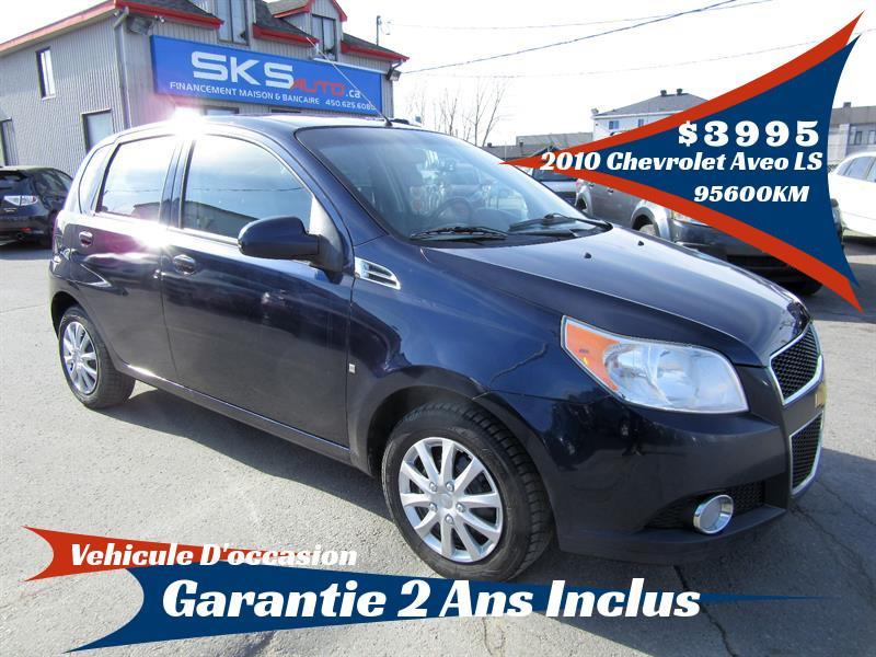 Chevrolet Aveo 2010 LS (GARANTIE 2 ANS INCLUS) FINANCEMENT MAISON #SKS-4058-2