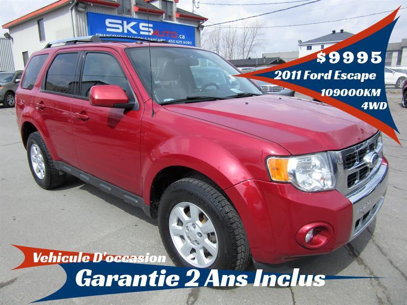 Ford Escape 2011 4WD Limited (GARANTIE 2 ANS INCLUS) #SKS-4070-1