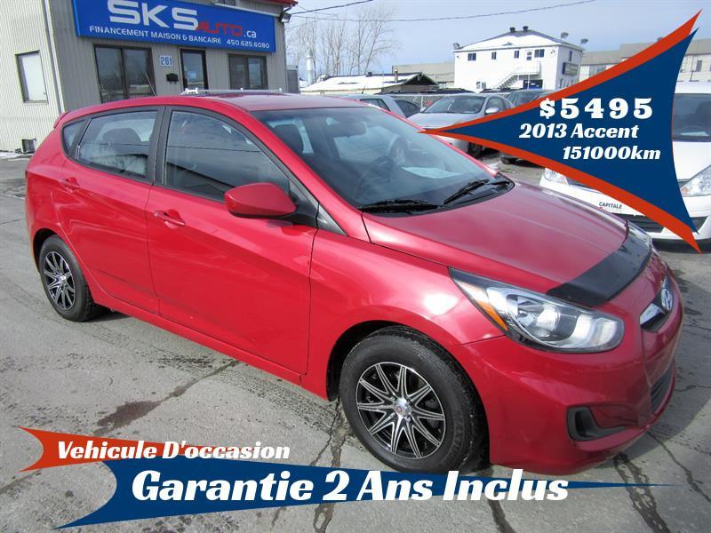 Hyundai Accent 2013 GLS (GARANTIE 2 ANS INCLUS) FINANCEMENT MAISON #SKS-3941-14