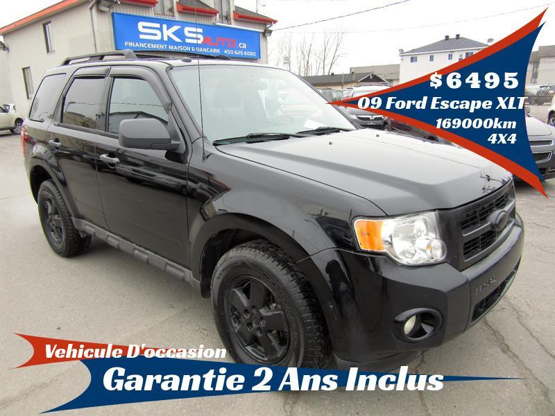 Ford Escape 2009 4WD XLT (GARANTIE 2 ANS INCLUS) #SKS-4054-1