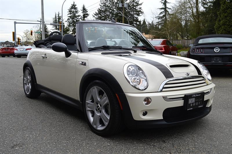 2006 Mini Cooper Convertible 2dr Convertible S - ONLY 75,xxx Kms  #CWL8431M
