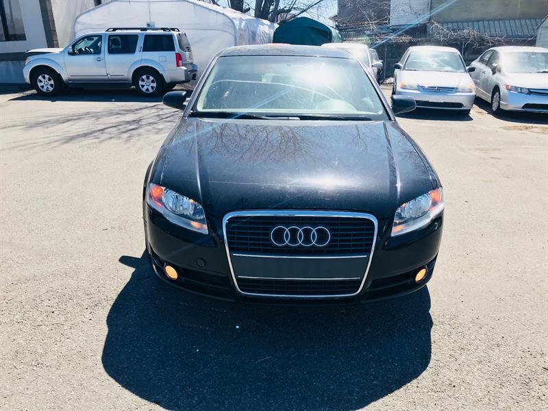 Audi A4 2006 2.0T-Automatic-Cuir-Toit-Tres economique #4375-2
