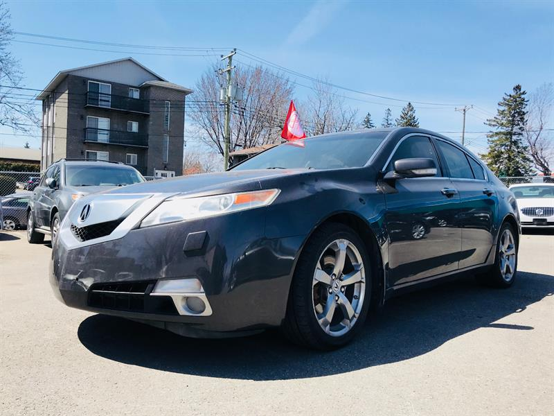 Acura TL 2009 Tech Package-3.7L w-Nav Pkg-Awd-Camera #4418