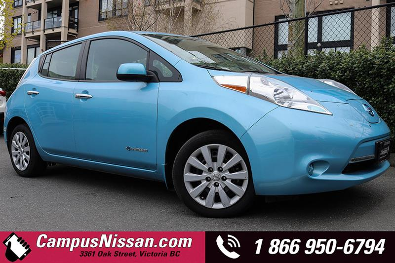 2015 Nissan Leaf S w/ Satellite Radio #JN2855