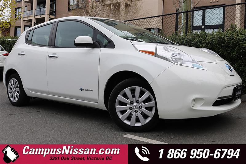 2015 Nissan Leaf S w/ Satellite Radio #JN2856