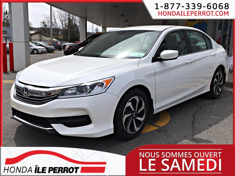 Honda Accord Sedan 2017 4dr I4 CVT LX JAMAIS ACCIDENTÉ #44499