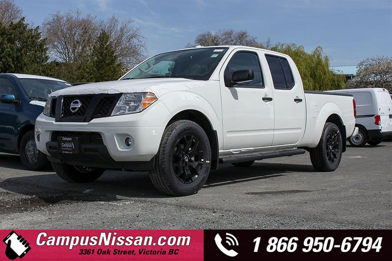2018 Nissan Frontier Midnight Edition 4WD Crew Cab Long Box #8-T280