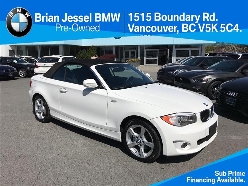2012 BMW 1 Series 128I Cabriolet #BP6420