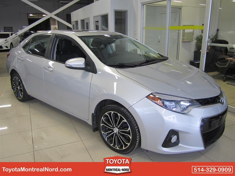 Toyota Corolla 2014 S + Toit + Mags #3869 AT