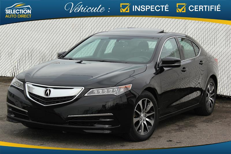 Acura TLX 2015 4dr Sdn FWD #J801025