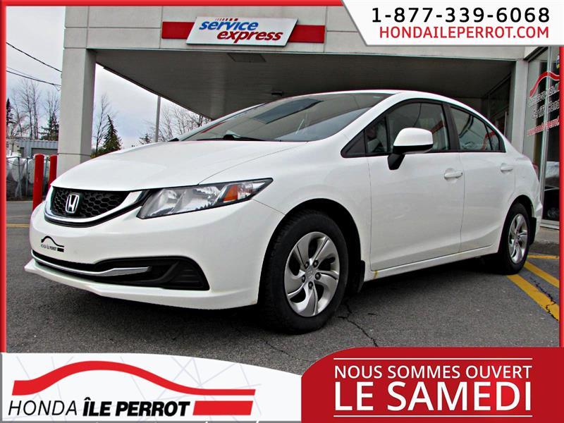 Honda Civic Sdn 2013 4dr Auto LX  SIEGES CHAUFFANTS #318526-1