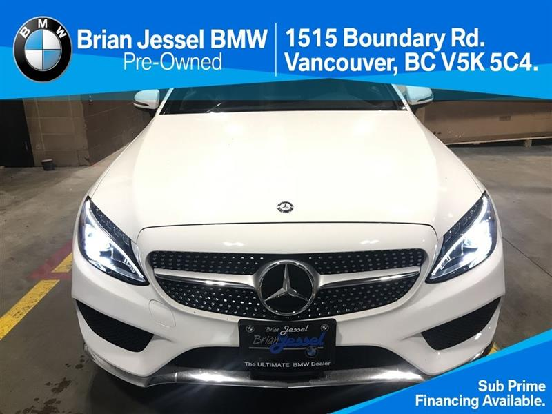 2017 Mercedes-Benz C-Class C300 4MATIC Coupe #BP6315