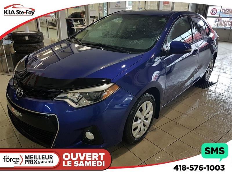 Toyota Corolla 2014 *S* SIÈGES CHAUFFANTS * CAMERA DE RECUL * CRUISE * #U1795