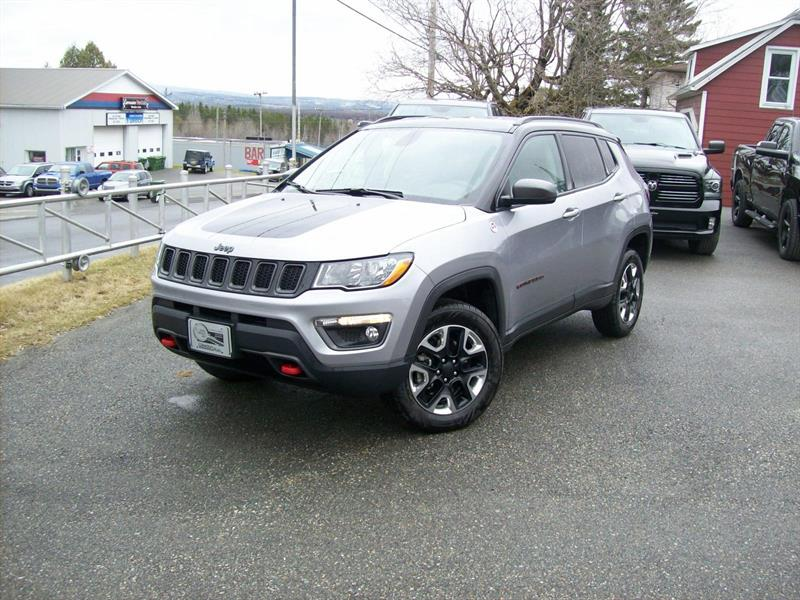 Jeep Compass 2017 Trailhawk #F0732A