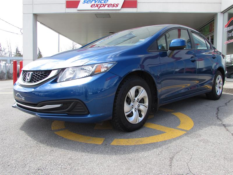 Honda Civic Sdn 2013 4dr Auto LX BLUETOOTH #318515-1