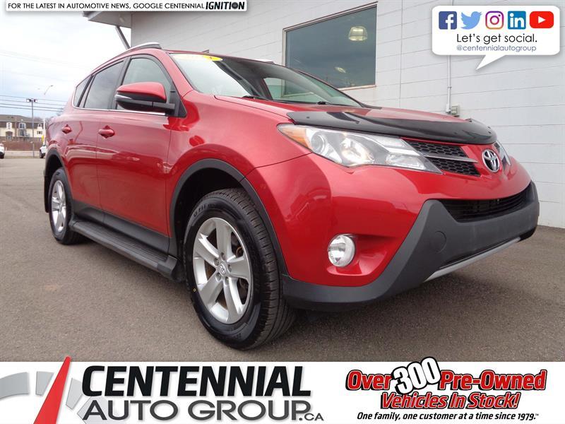 2013 Toyota RAV4 XLE | AWD | Bluetooth | Moonroof | Heated Seats #P18-043
