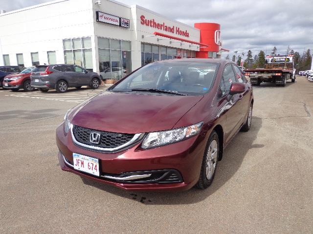 2013 Honda Civic Sdn 4dr Auto LX #DH018364A