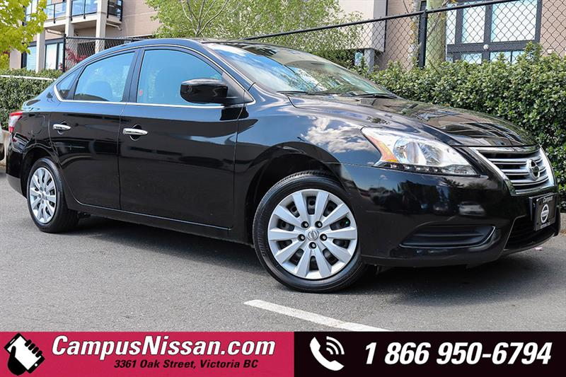 2013 Nissan Sentra S Sedan w/ Bluetooth #A7241