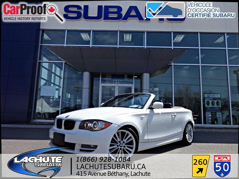 BMW 1 Series 2011 1 Series   CONVERTIBLE 128i #18-166A