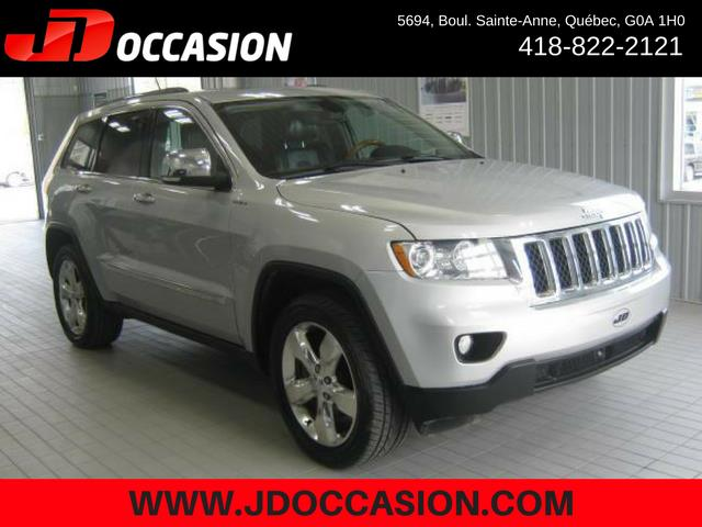 Jeep Grand Cherokee 2012 4WD 4dr Overland #A4886