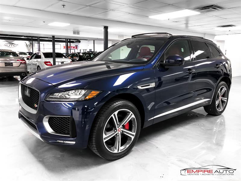 Jaguar F-PACE 2017 S AWD SUPERCHARGED 380HP #A6638