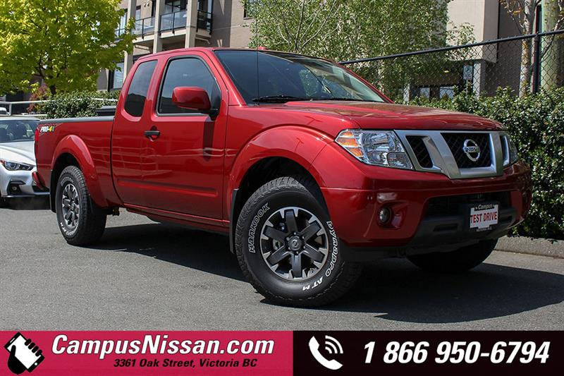 2018 Nissan Frontier King Cab Standard Bed 4x4 #D8-T149