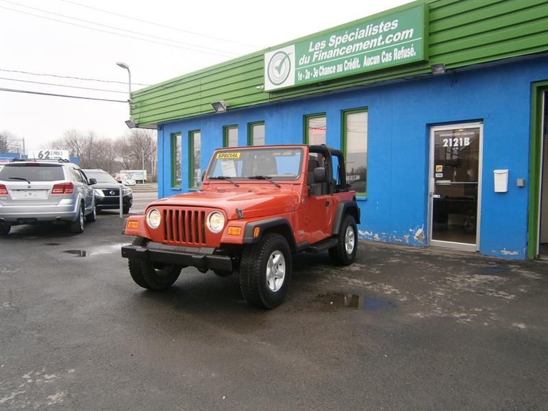 Jeep TJ 2006 2dr SE #18-016