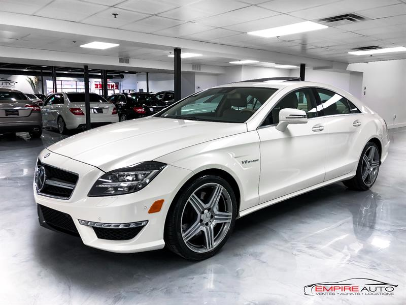 Mercedes-Benz Classe-CLS 2014 CLS63 AMG 4MATIC 550HP #SN351