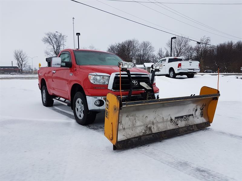 Toyota Tundra 2010 Base 5.7L V8 PELLE À NEIGE SALLIÈRE #COM-P8734