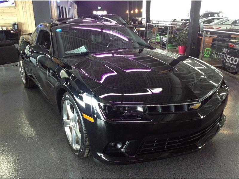 Chevrolet Camaro 2014 2SS toit ouvrant cuir mags #A5361