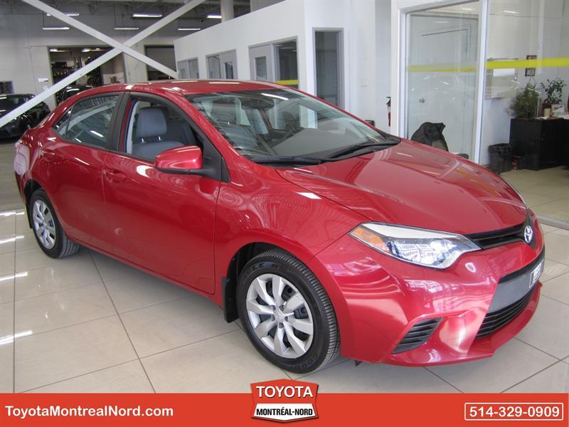 Toyota Corolla 2014 LE CVT Aut/Ac/Vitres,Portes,Miroirs Electriques  #2858 AT