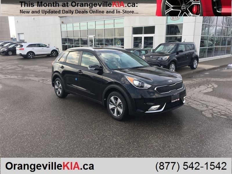 2018 kia niro hybrid ex premium automatic new for sale in orangeville at orangeville kia. Black Bedroom Furniture Sets. Home Design Ideas