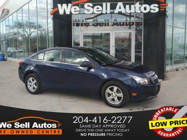 2011 Chevrolet Cruze LT Turbo+ w/1SB #14NV68708TA