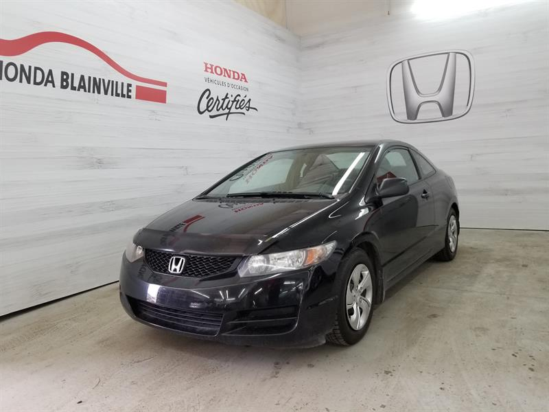 Honda Civic Coupe 2011 2 Portes Dxg 5 vitesses #u-1029a