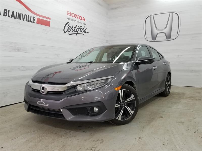 Honda Civic Berline 2016 4 Portes Cvt Touring #u-1076