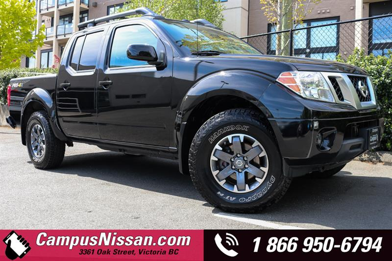 2016 Nissan Frontier PRO-4X Crew Cab 4WD #A7244