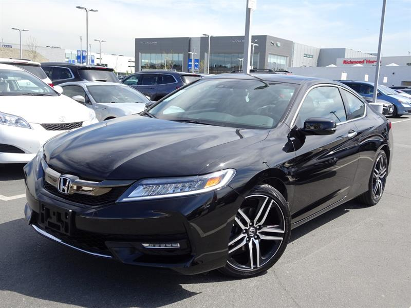 2017 Honda Accord Coupe L4 Touring CVT! Honda Certified Extended War #LH8037