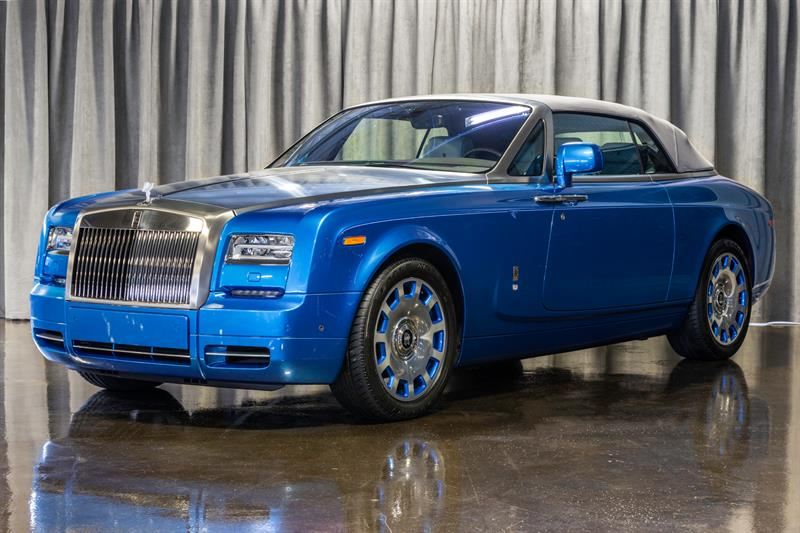 Rolls-Royce Phantom 2015 DROPHEAD CONVERTIBLE! WATERSPEED  EDITION!