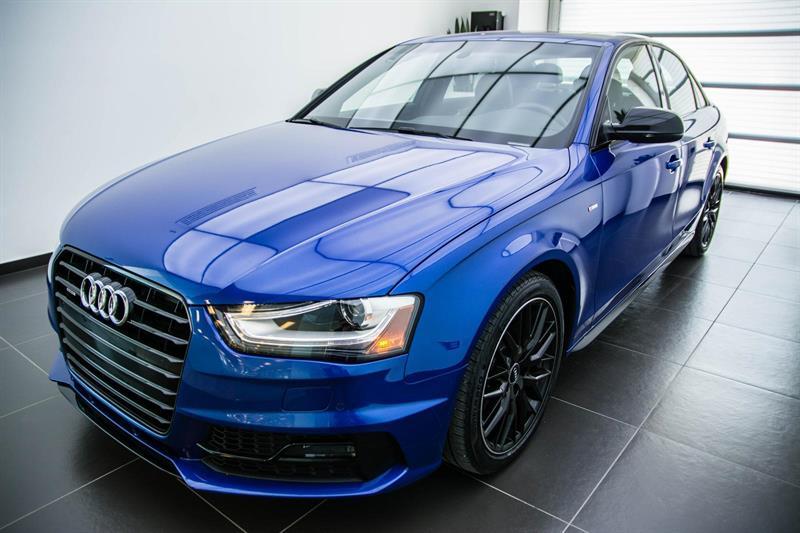 Audi A4 Manuel S-Line Competition 2016