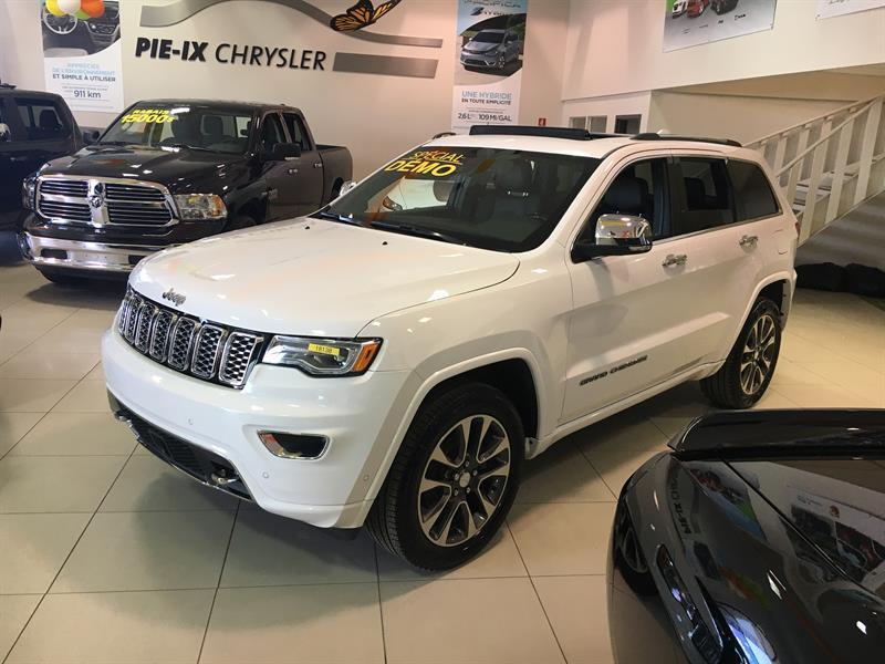 Jeep Grand Cherokee 2018 Overland 4x4,DEMO #z18138